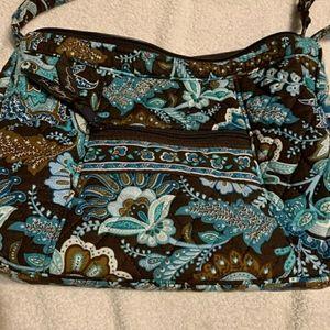 Vera Bradley Java Blue small handbag